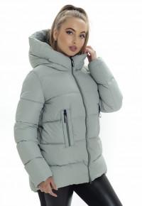 Куртка- пуховик ZP3178 серый