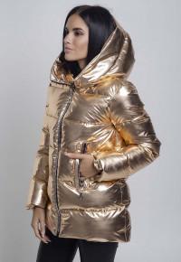 Куртка- пуховик Y33181 золото