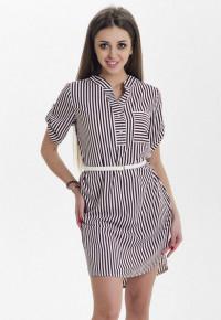 Платье R10D(корич)
